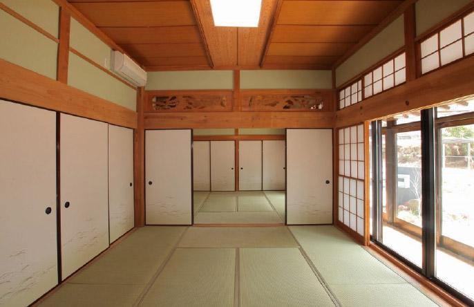 Old Japanese Vintage Houses