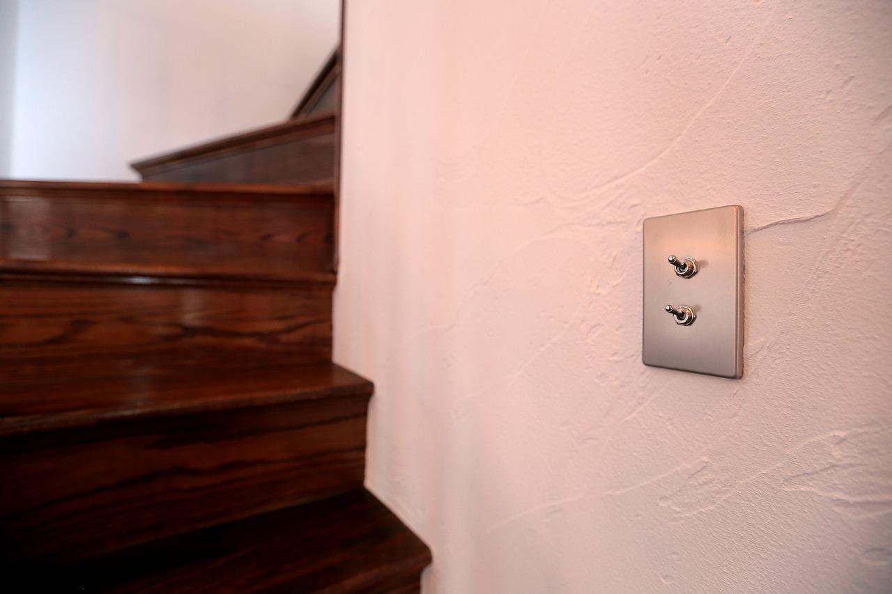 スイッチが変わるだけでも意外と印象は変わります。らしさを表現
