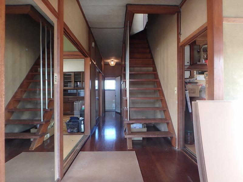 2階減築の平屋の家