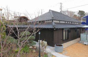 金魚と暮らす平屋の家