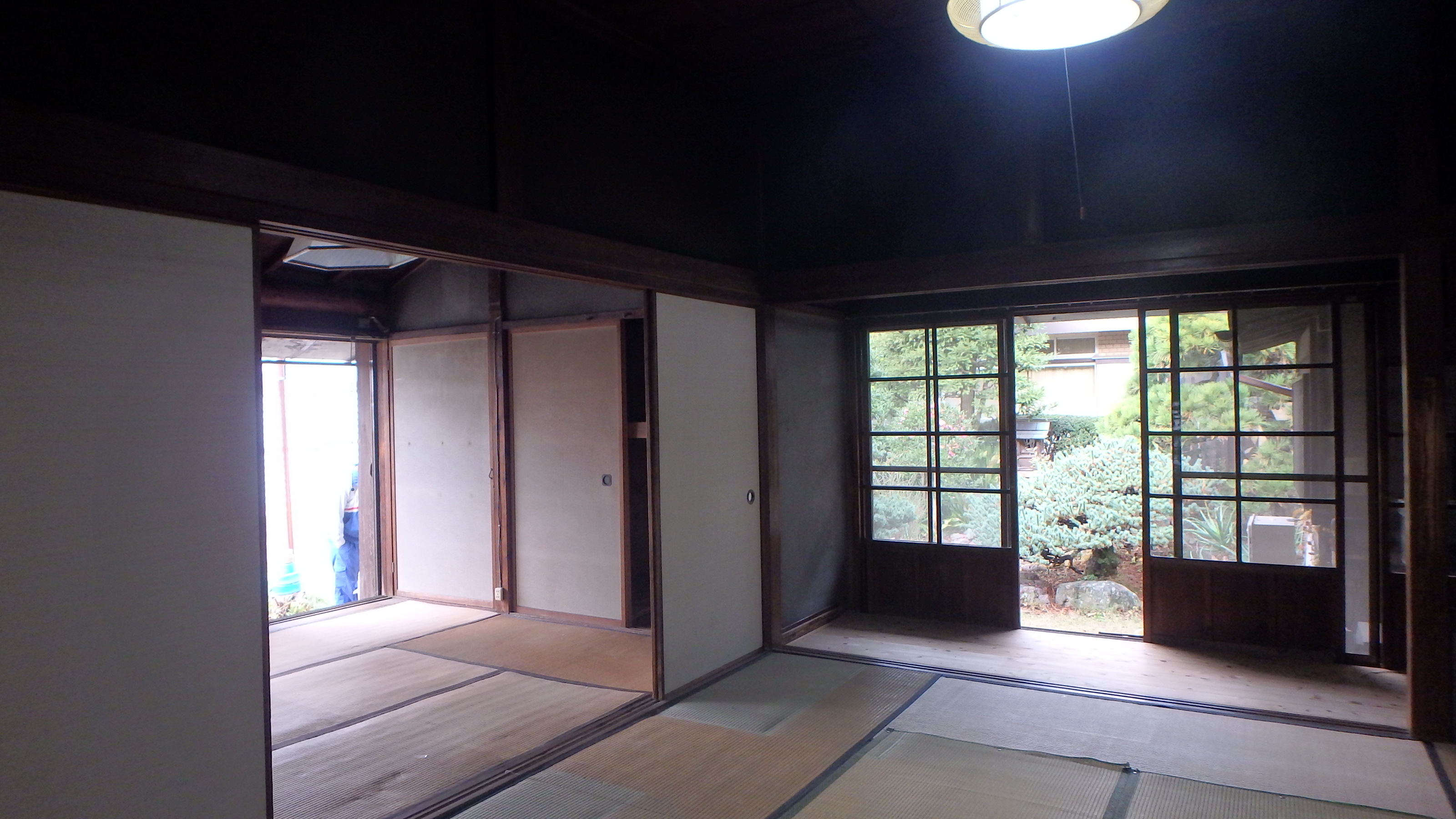 築91年 金魚と暮らす平屋の家
