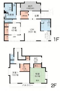 無垢材×シンプルモダンな家